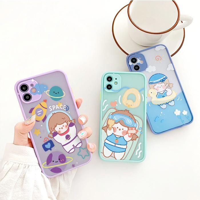 Ốp lưng iphone Roro Daily bảo vệ camera 5s/6/6plus/6s/6splus/6/7/7plus/8/8plus/x/xs/xsmax/11/11pro/11promax– Shin Case