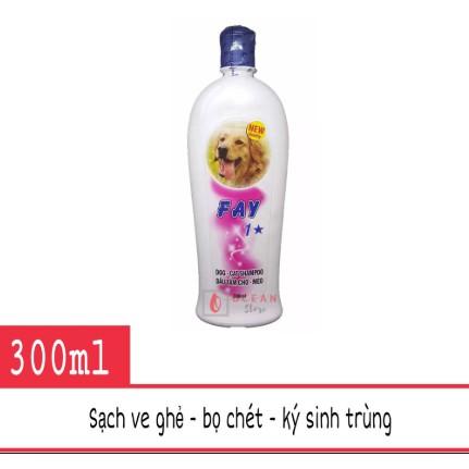 Sữa tắm Fay 1* trị bọ chét ve rận cho chó mèo