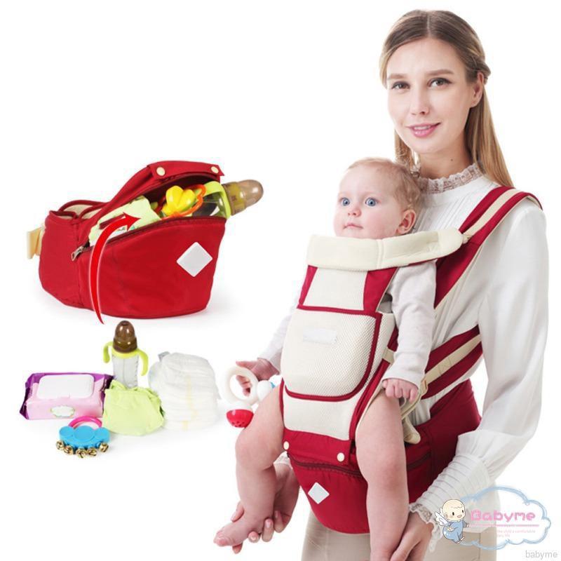 Đai địu em bé dạng đeo hông đơn giản dễ dàng điều chỉnh kích thước