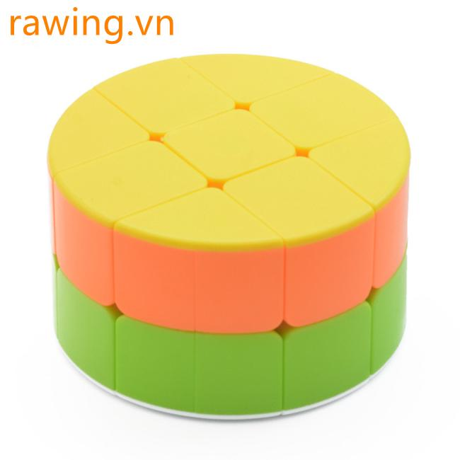 2×2 Cylinder Shape Magic Cube Kids Educational Puzzle Toy