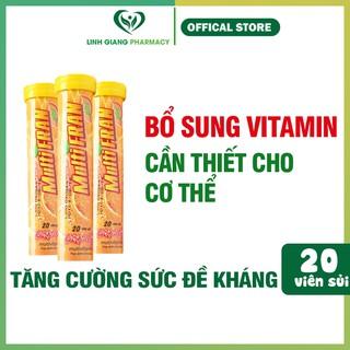 [ Hàng chính hãng] Viên sủi bổ sung vitamin C Multifra ❤️FREESHIP❤️ tăng sức đề kháng Tuýp 20 viên