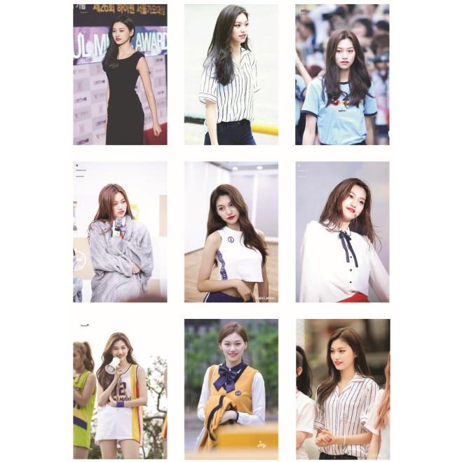 Lomo card ảnh thành viên Weki MeKi - Kim Doyeon full 81 ảnh