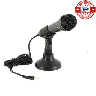 Microphone Senicc SM-098 dùng cho máy tính PC, Laptop ... jack cắm 3.5mm thumbnail