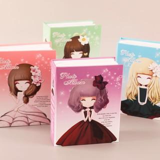 Album ảnh 7×10 200 tấm bìa cô gái dễ thương