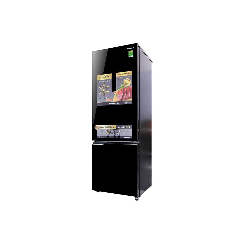 Tủ lạnh Panasonic Inverter 322 lít NR-BC369QKV2 Mới 2018 (SHOP CHỈ BÁN HÀNG TRONG TP HCM)
