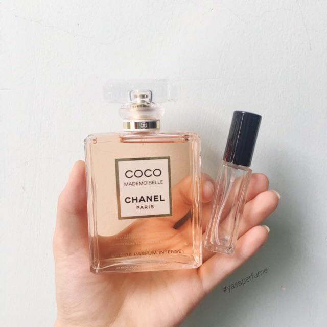 Chiết nước hoa Chanel Coco Mademoiselle EDP Intense (2018) chính hãng (9ml) - 9957222 , 1023292205 , 322_1023292205 , 420000 , Chiet-nuoc-hoa-Chanel-Coco-Mademoiselle-EDP-Intense-2018-chinh-hang-9ml-322_1023292205 , shopee.vn , Chiết nước hoa Chanel Coco Mademoiselle EDP Intense (2018) chính hãng (9ml)