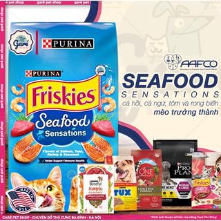 1kg - Hạt Seafood Sensations Purina dành cho Mèo trưởng thành mang đậm hương vị Hoa Kỳ thumbnail