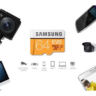 Thẻ nhớ Micro SD EVO + Plus 256gb 64GB 32GB thumbnail