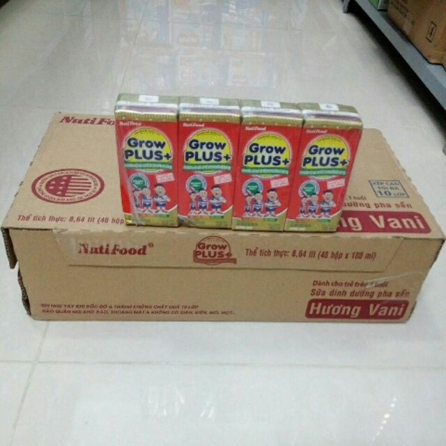 Sữa Grow Plus đỏ 180ml(thùng) - 3449091 , 826635471 , 322_826635471 , 455000 , Sua-Grow-Plus-do-180mlthung-322_826635471 , shopee.vn , Sữa Grow Plus đỏ 180ml(thùng)