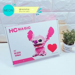 Mini Block | Đồ chơi xếp hình lego | – Stitch angel – 2576 pcs – Size XL