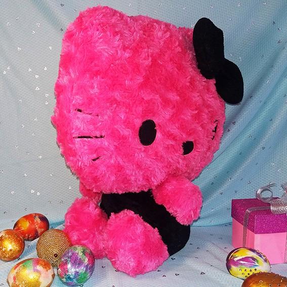 [SALE GIÁ SỐC] XẢ DỌN KHO - Gấu Bông Hello Kitty Hàng Ngoại Nhập Đen Hồng Độc Đáo, Hiếm có...