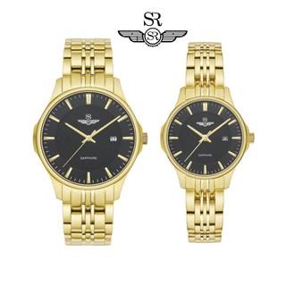 Đồng Hồ Đôi Chính Hãng SRWATCH Couple-F SR80071.1401CF mặt kính sapphire sang trọng lịch lãm quý phái bảo hành 12 tháng thumbnail