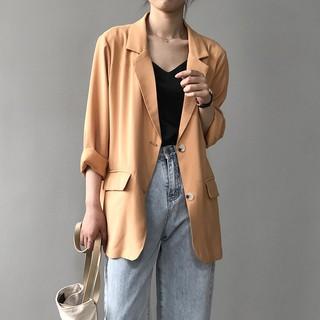 Áo Khoác Vest Mỏng Chống Nắng Thời Trang Xuân Hè Dành Cho Nữ 7926