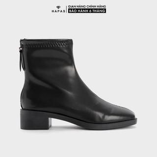 Giày Bốt Nữ Boot Da Mịn Cổ Ngắn 2Phân - BOT245