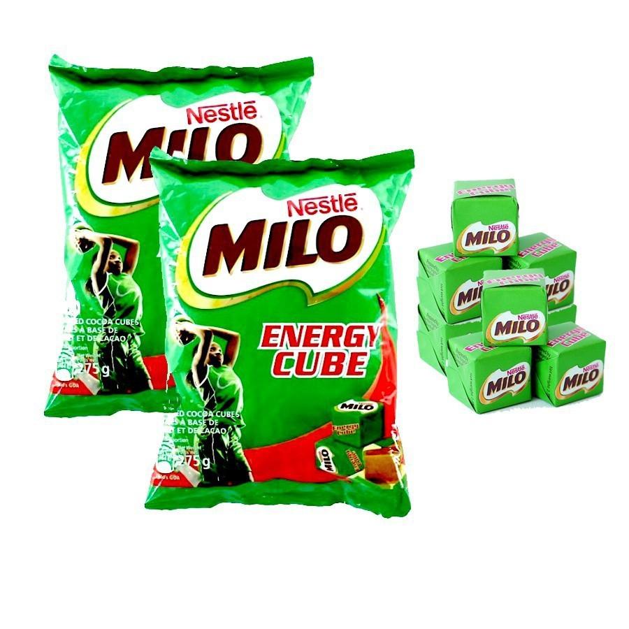Combo 2 Túi Milo Cube ( Mỗi Túi 100 viên)