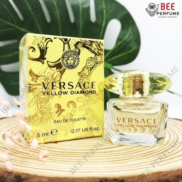 Nước Hoa Mini Versace Yellow Diamond EDT 5ml chính hãng cho nữ [DEAL SỐC]