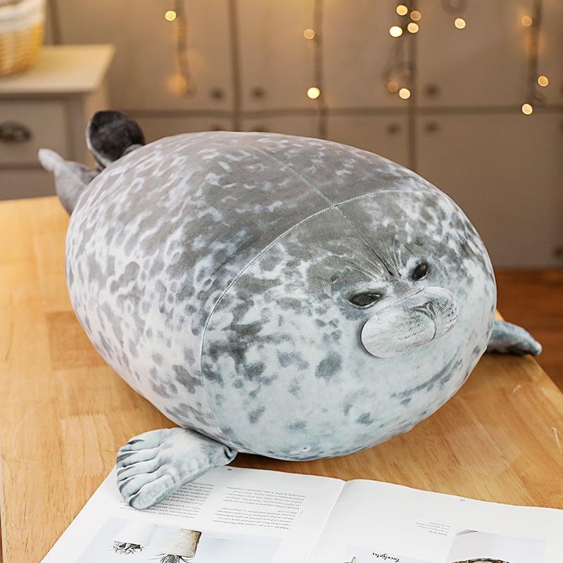 Gối ôm hình hải cẩu Osaka bằng chất liệu cotton mềm mại