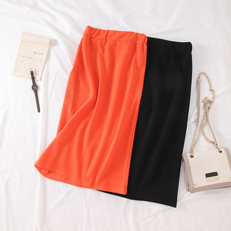 [Cabbage] 2019 early spring Korean version of high waist skirt female trend stra