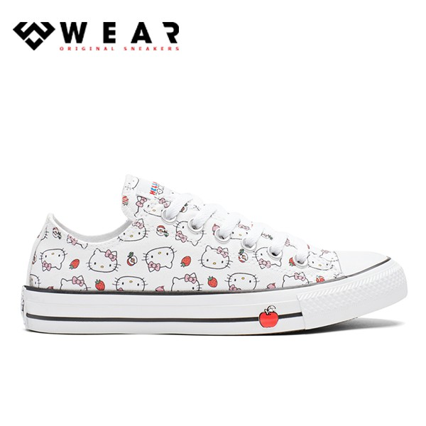 Giày Sneaker Unisex Converse X Hello Kitty Chuck Taylor All Star Fiery - 163916C