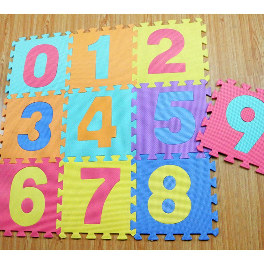 10pcs/set Many Design Baby Play Colorful Jigsaw Educational Puzzle Carpet