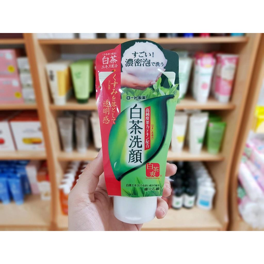 SỮA RỬA MẶT TRÀ XANH NHẬT BẢN Rohto Shirochasou Green Tea Foam - 3340891 , 554532840 , 322_554532840 , 150000 , SUA-RUA-MAT-TRA-XANH-NHAT-BAN-Rohto-Shirochasou-Green-Tea-Foam-322_554532840 , shopee.vn , SỮA RỬA MẶT TRÀ XANH NHẬT BẢN Rohto Shirochasou Green Tea Foam