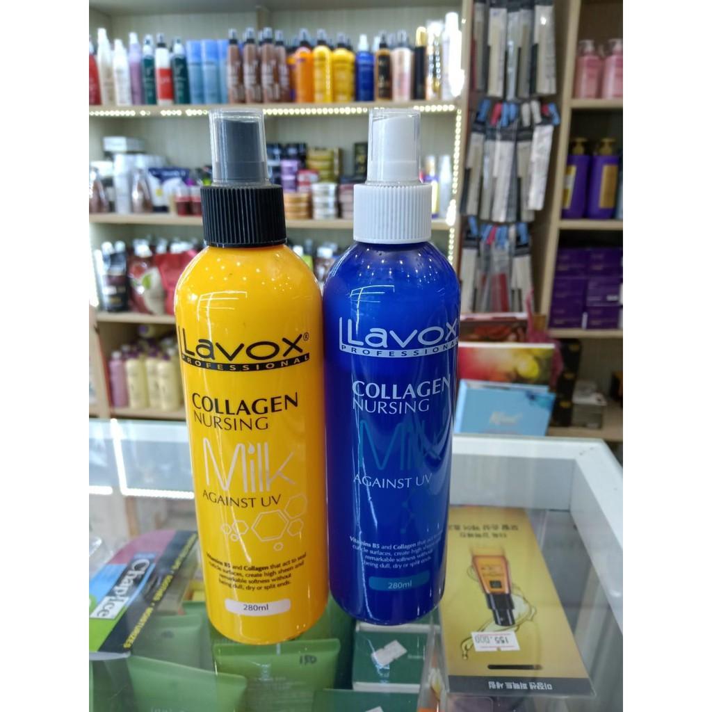 *Sữa Dưỡng Collagen Chống Tia UV Siêu Bảo Vệ Tóc Lavox