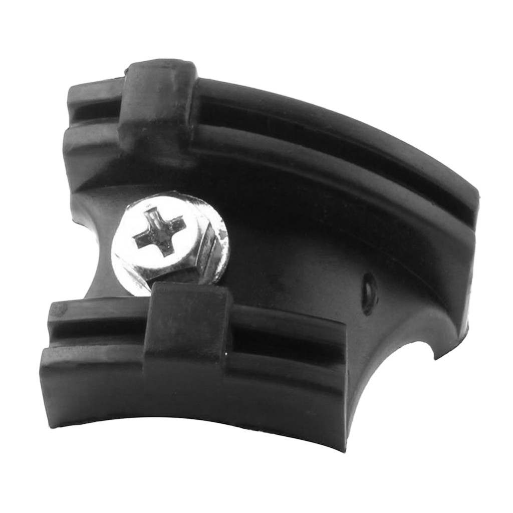 Mountain Road Bike Bottom Bracket Cable Guide with Screw Black