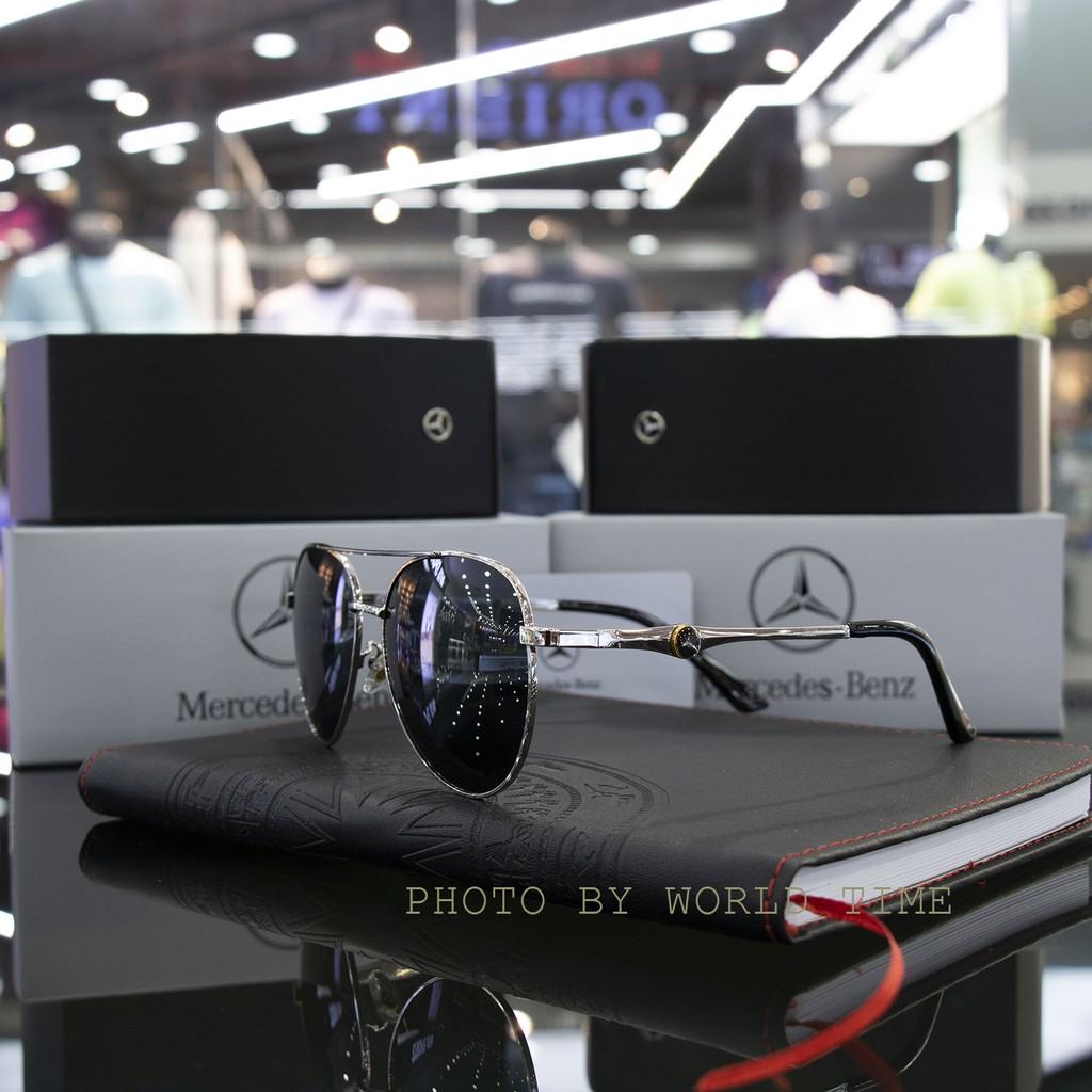 Kính Mát Nam Benz7 Cao Cấp Full Box + Thẻ Bảo Hành 1 Năm - Khăn Lau Kính, Mắt Kính...