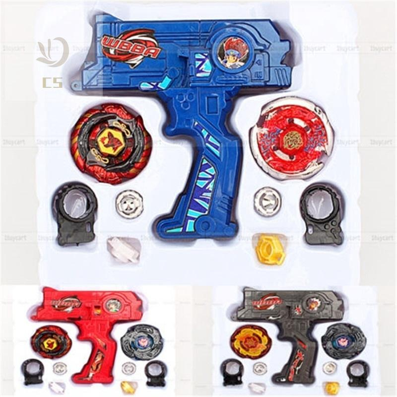 CS♥ Beyblade with Launcher Metal Fusion Rotate Rapidity Fight Masters Toy