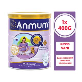 Sữa Bột Anmum Materna Hương Vanilla 400g thumbnail