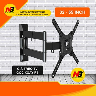 Giá treo tivi xoay đa năng P4 32 đến 55 inch – Hàng nhập khẩu NB.