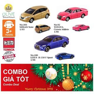 Bộ 3 xe mô hình Tomica như hình
