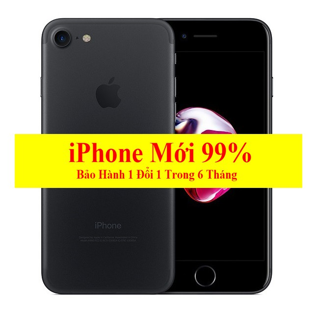 [ELMT6M GIẢM TỚI 500K] Điện thoại iPhone 7 Plus Quốc Tế 128GB Mớ