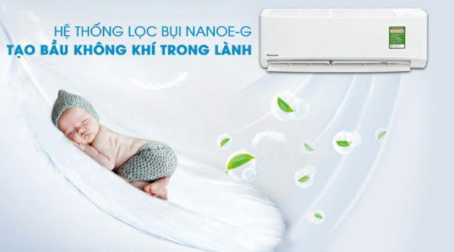 Máy lạnh Panasonic Inverter 1 HP CU/CS-PU9UKH-8