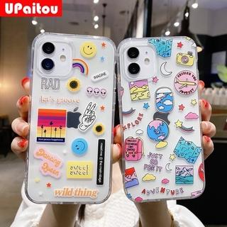 Ốp Lưng Họa Tiết Hình Mặt Cười Đáng Yêu Cho Samsung Galaxy A32 A12 A02S A42 5g S20 Fe M51 A21S A51 A71 A31 M31 A50 A70 A30S A50S A30 A20 A11