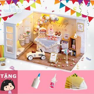 Mô hình nhà búp bê tự ráp Tiệc sinh nhật