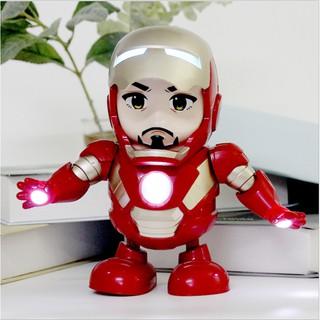 [ hàng chính hãng ] Iron man nhảy theo nhạc – Đồ Chơi RoBot Iron Man
