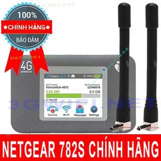 (Rẻ Vô Địch) Bộ phát wifi 4G Netgear Aircard 782S, 762S, Tốc Độ Cao 150Mbps, Có LCD Cảm Ứng thumbnail