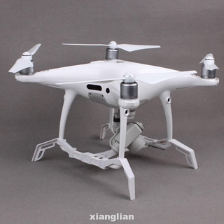 Landing Gear With Gimbal Camera Guard Extending Drone Accessories Parts Plastic White Stabilizer For DJI Phantom 4 Pro