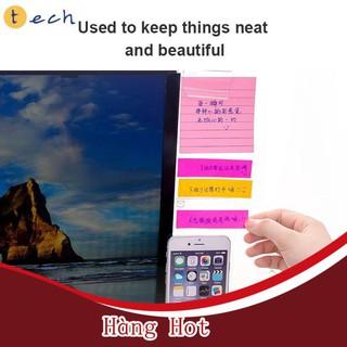 [ Hàng Hot ] Bảng nhựa trong suốt gắn màn hình máy tính dùng dán giấy ghi chú tiện dụng sáng tạo thumbnail