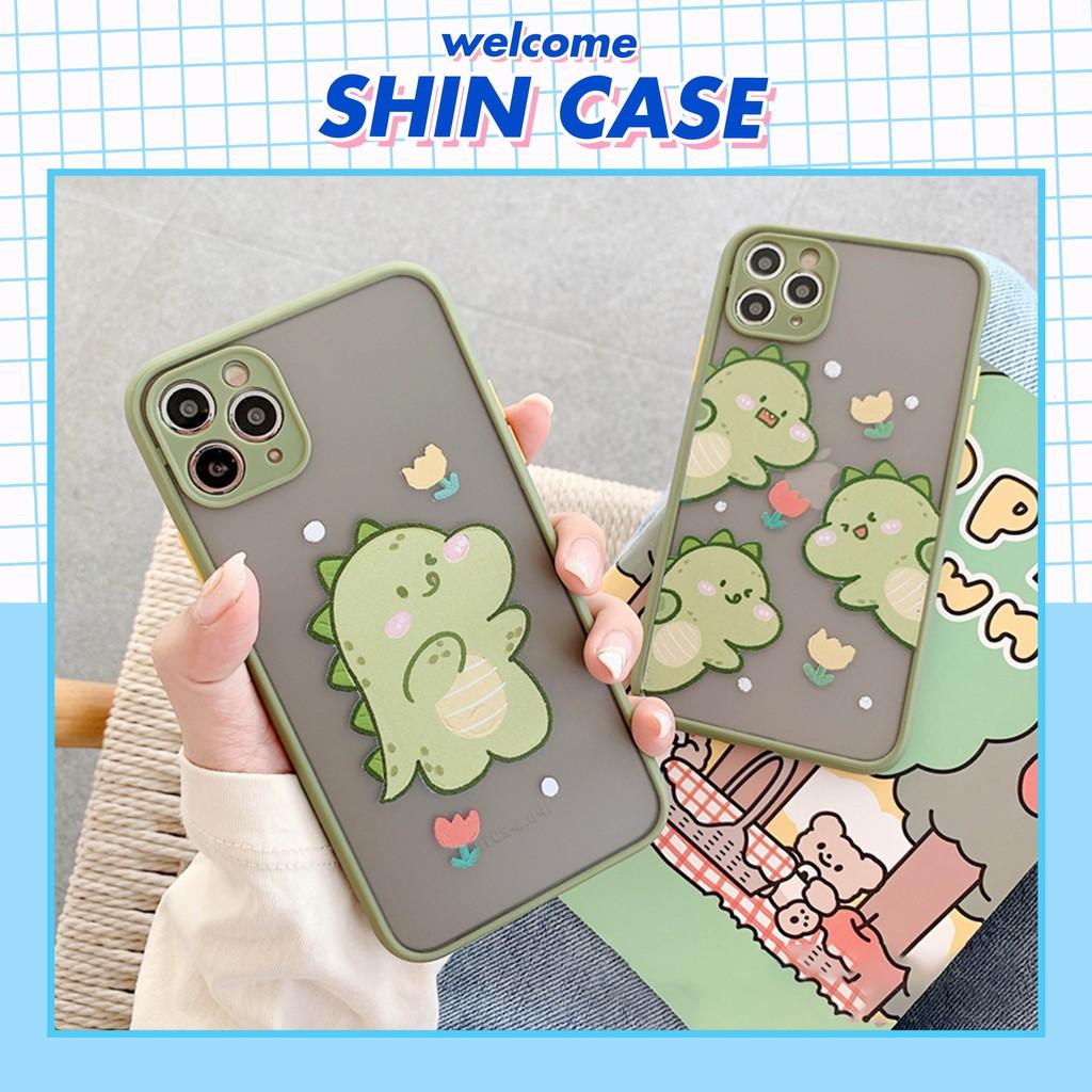 Ốp lưng iphone Little Dino 5s/6/6plus/6s/6s plus/6/7/7plus/8/8plus/x/xs/xs max/11/11 pro/11 promax – Shin Case