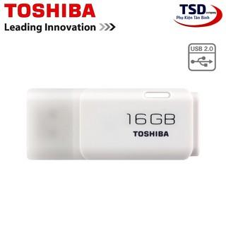 [Mã ELFLASH5 giảm 20K đơn 50K] USB TOSHIBA 16GB U202 Chính Hãng Bảo Hành 24 Tháng