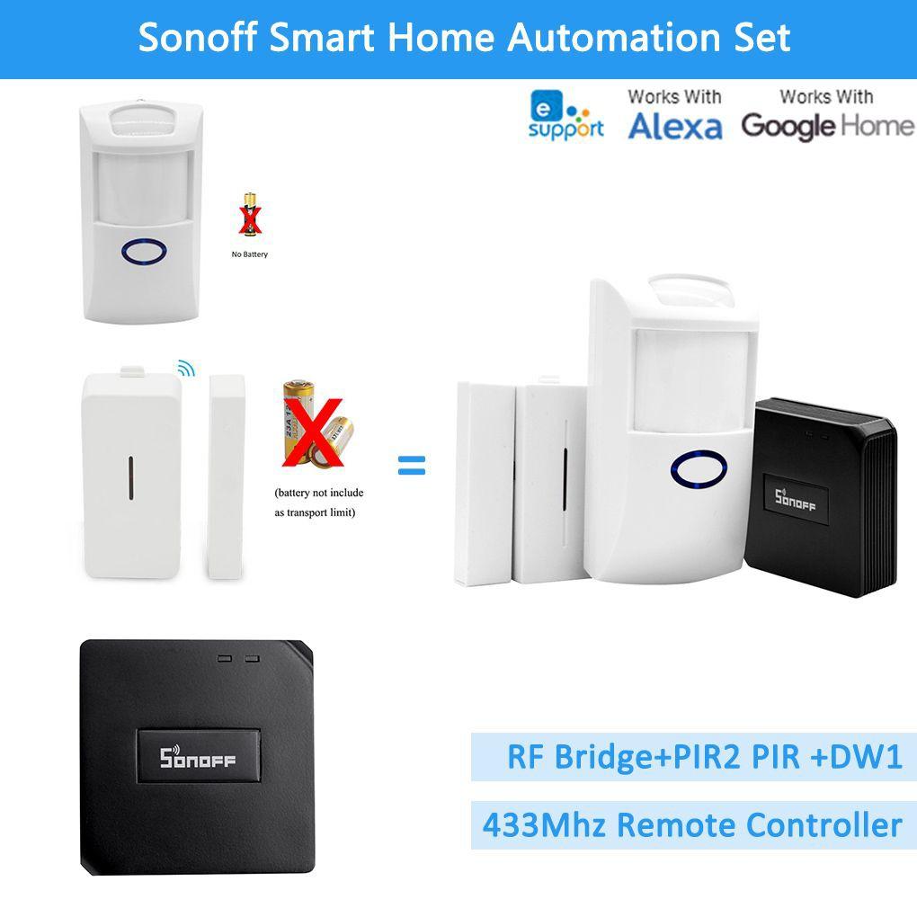SONOFF PIR2, thiết bị cảm biến phát hiện chuyển động, hồng ngoại (dùng kết hợp với Sonoff RF Bridge 433)