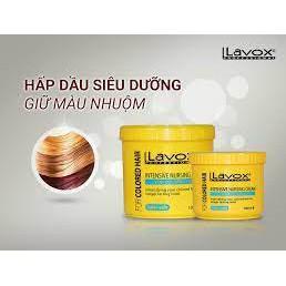 Hấp dầu Lavox siêu mềm mượt giữ màu