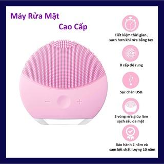 Máy rửa mặt chính hãng mini có thể massage mặt – kiểu máy chăm sóc da mặt
