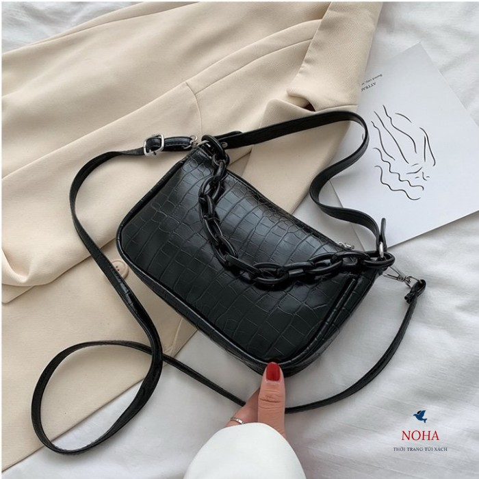 Túi xách nữ công sở đeo chéo thời trang đẹp D7245