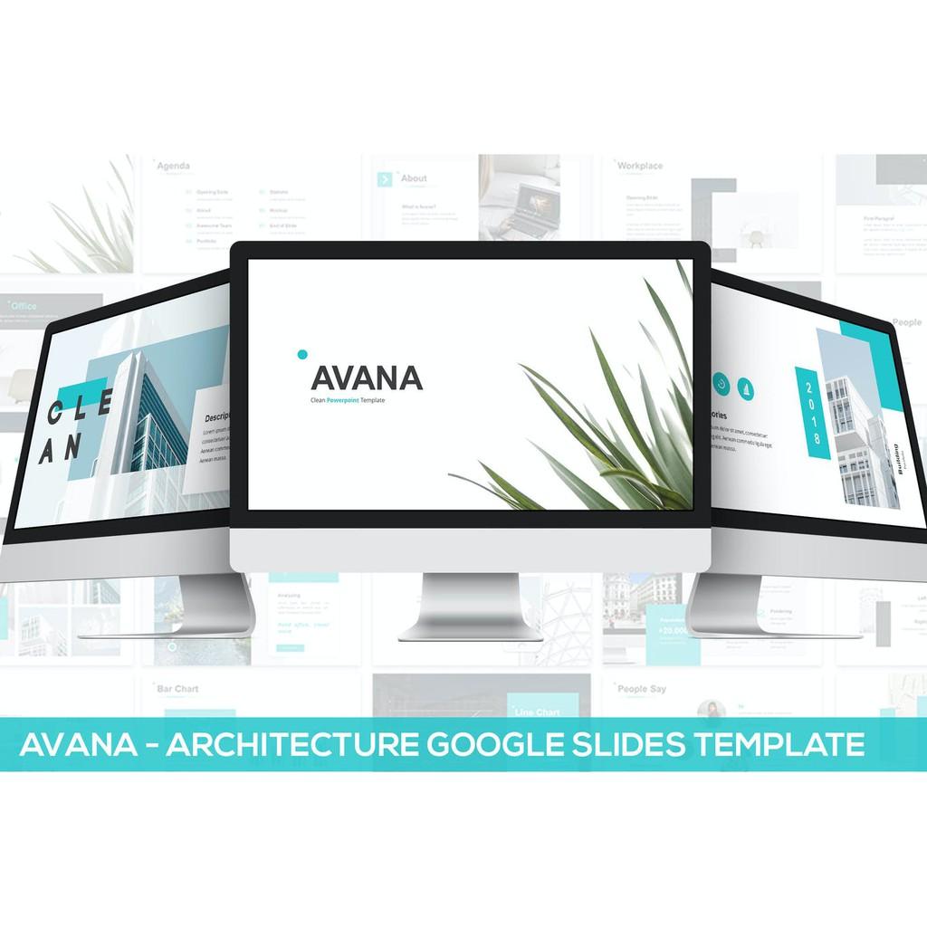 TOÀN QUỐC [E-voucher]-Tải TRỌN ĐỜI-File Powerpoint thuyết trình Avana-Architecture Google Slides Template