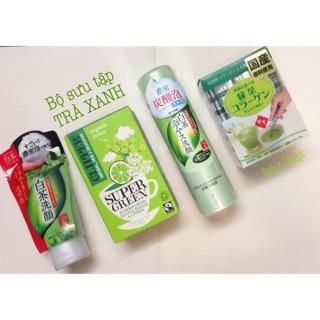 Sữa rửa mặt Rohto Shirochasou Green Tea thumbnail