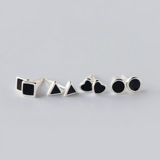 Khuyên Tai Nữ Bạc 925 Cá Tính Cho Nữ - B2433 - Bảo Ngọc Jewelry