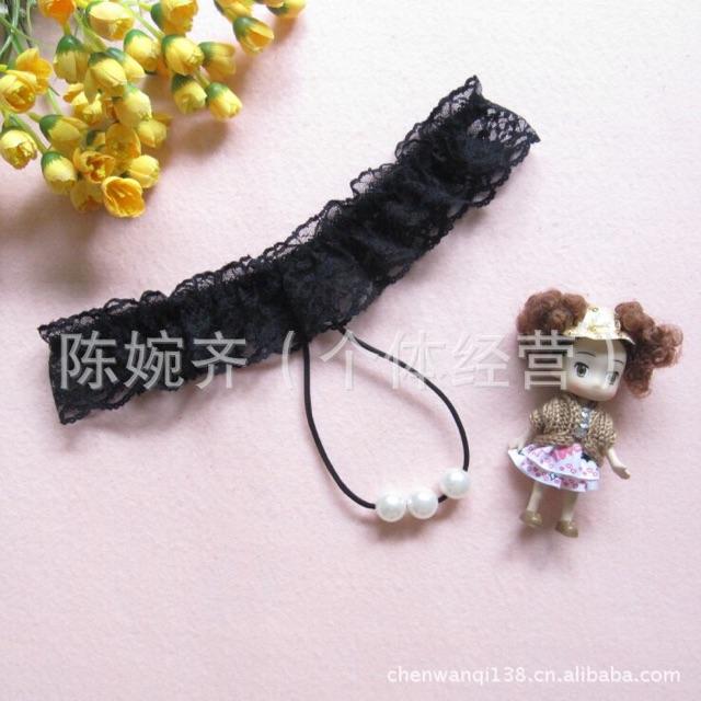 Bộ 4 quần lót lọt khe hạt châu đồ chip xuyên thấu sexy quần ren gợi cảm | BigBuy360